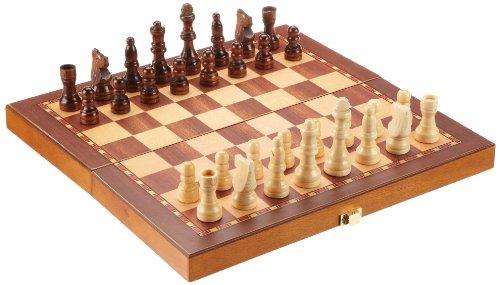 Philos 2712 - Schach, Schachspiel, Reiseschach, Feld 30 mm, Königshöhe 65 mm, magnetisch