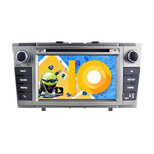 ZWNAV 7 inch Andriod 9.0 Double Din Car Stereo Sat Nav Bluetooth GPS...