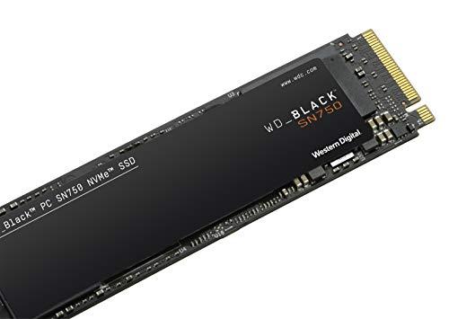WD_Black SN750 500GB NVMe Internal Gaming SSD - Gen3 PCIe, M.2 2280, 3D NAND, Up to 3430 MB/s - WDS500G3X0C