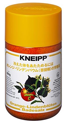 クナイプ バスソルト オレンジ・リンデンバウム(菩提樹)の香り 850g