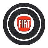 Portavasos automático Alfombrilla antideslizante Accesorios de decoración interior del coche 500 500x ducato tipo panda bravo doblo stilo freemont, 1 Uds Fiat