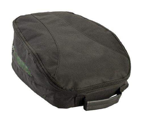 IZZO Golf Unisex's black Izzo Shoe Bag, One Size