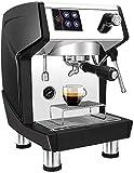 AOIWE Die tragbare Espressomaschine, kompatibel gemahlener Kaffee und dichtem Milchschaum ist aus...
