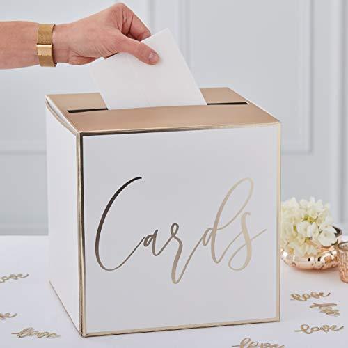 Ginger Ray Goldfolierter Tischkartenhalter für Hochzeitspartys