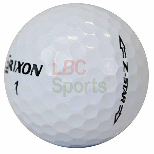 Lbc de Sports 400Srixon Z Star–AAAAA–Modelo 2016–Pelotas de golf–Lake Balls–como nuevo ZStar
