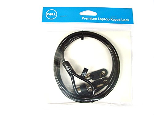 Genuine Original Dell Premium Keyed Lock T-bar , fits into industry-standard Kensington K-Slot security slot ,Dell P/Ns : 99HPV , NWG92 , 461-10220