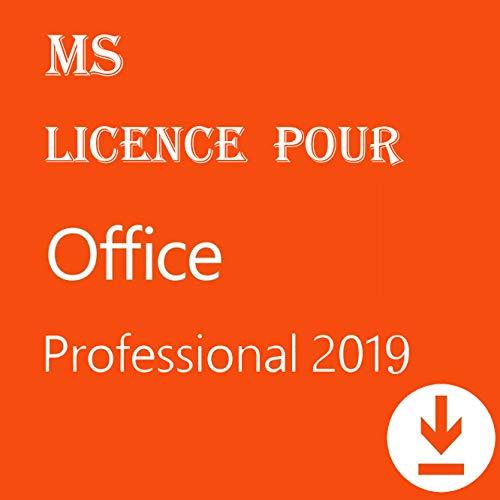 Licence pour Office 2019 Professional Plus 32/64 bits | Licence pour 1PC ( seulement pour windows 10 ) | [Téléchargement] - Livraison 2-6h par E-mail-