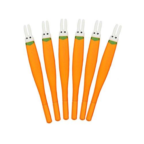 MaiYi Gel Ink Pen - Fairytale Radish Rabbit Ears Rollerball Pens Ballpoint Pens Best for Adult & Child