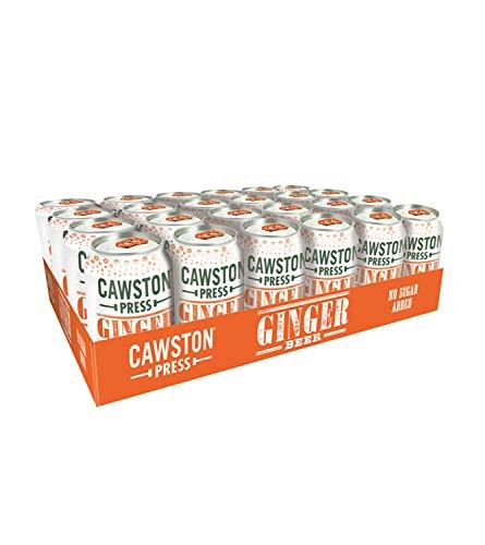 Cawston Sparkling - Lote de 12 latas de limonada (330 ml)