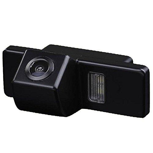 Greatek Telecamera Auto HD Telecamera 170 Gradi Visione Notturna Retromarcia Auto Retrocamera per Qashqai X-trail Dualis Juke 307 307CC Citroen C-triomphe C-Qquatre C4