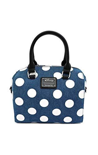 Loungefly Bags Loungefly Disney Minnie Mouse Denim Umhängetasche Blau