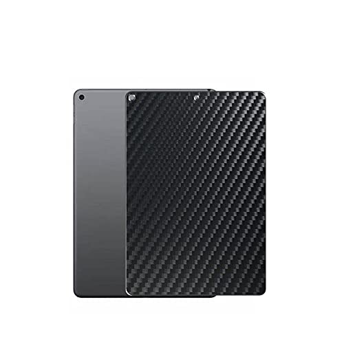 Vaxson 2 Unidades Protector de pantalla Posterior, compatible con iPad Air 3 2019, Película Protectora Skin Piel Negro [No Carcasa Case ]