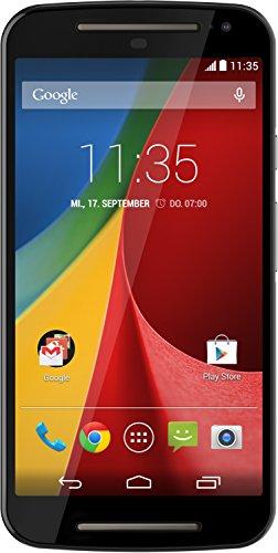Motorola Moto G 2. Generation Dual-Sim Smartphone (5 Zoll (12,7 cm) Touch-Display, 8 GB Speicher, Android 5.02) schwarz