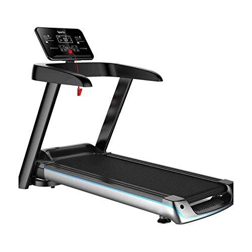 Máquina de correr eléctrica plegable, cinta de correr para el hogar, cinta de correr multifunción, fácil montaje, disco eléctrico motorizado para andar en casa, cinta de correr para H BJ