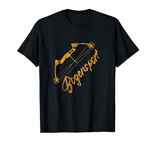 Bogen Sport Pfeil und Bogen T-Shirt