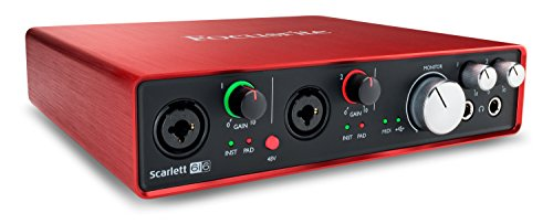 Focusrite Scarlett 6i6 2nd Generation - Scheda...