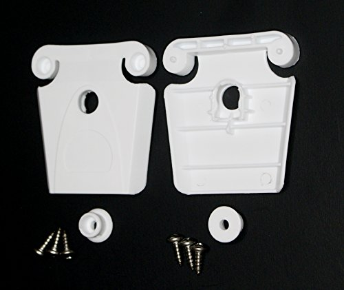 JSP Manufacturing 2 Pack Aftermarket Igloo Cooler Plastic Replacement Latch, Post & Screws (Part #24013)