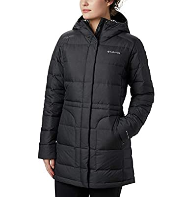 Columbia Women's Hexbreaker Down Jacket, Charcoal Heather, X-Large