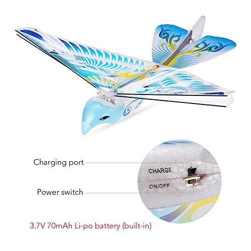 Goolsky 98007 + 2,4 GHz Fernbedienung Authentisches E-Bird Flying Bird RC Spielzeug