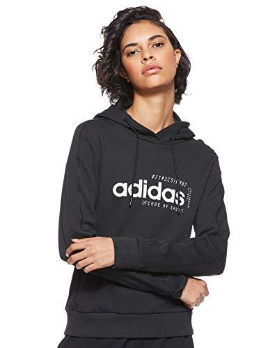 adidas Damen Hoody Brilliant Basics, Black, XS, EI4632