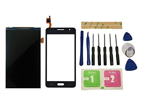 Flügel para Samsung Galaxy Grand Prime G531 SM-G531 SM-G531F pantalla LCD Pantalla Display + Táctil Pantalla digitzer Negro (sin marco) de Recambio & Herramientas