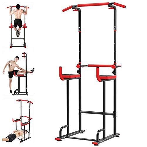 AYES Klimmzugstange für drinnen, Sportgerät, horizontale Stange, multifunktional, Fitness, horizontale Stange, Tunturi Push/Klimmzug-Assistent