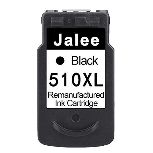 Jalee Negro Cartuchos de Tinta refabricado para Usar en Lugar de Canon 510 XL 510XL Compatible para Canon PIXMA MX360 MX410 MX420 MP230 MP240 MP250 MP260 MP270 MP280 MP480 MP252 MP272 MP282 iP2702
