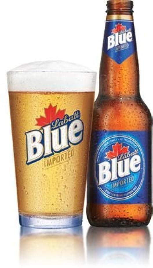 利得藤色恨みLabatt Blue Beer Pint Glass