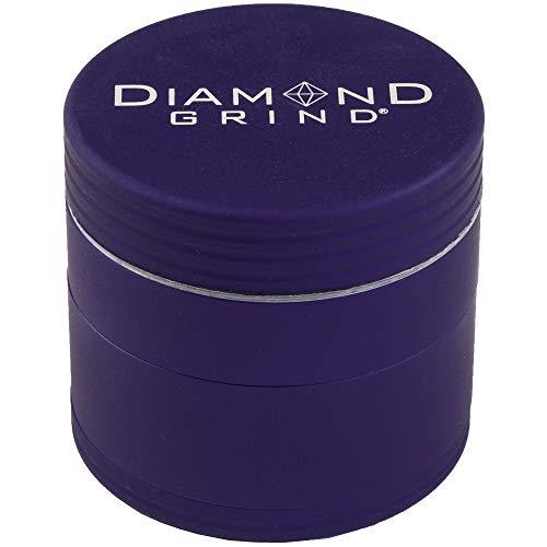 """Matte Diamond Grind Twist with Quick Thread Design 63MM (2.50"""") (Blue)"""