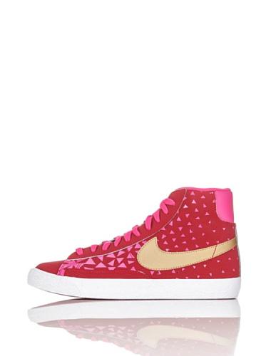 Nike Sneaker Alta Blazer Mid Vintage (GS) Rosso/Rosa/Oro EU 38.5 (US 6Y)