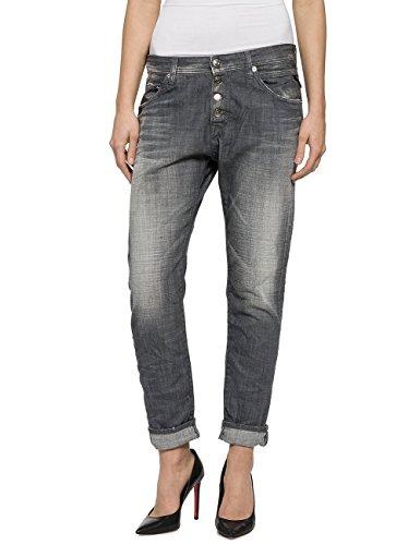 REPLAY Pilar Jeans, Grigio (Grey Denim 9), 27W x 30L Donna