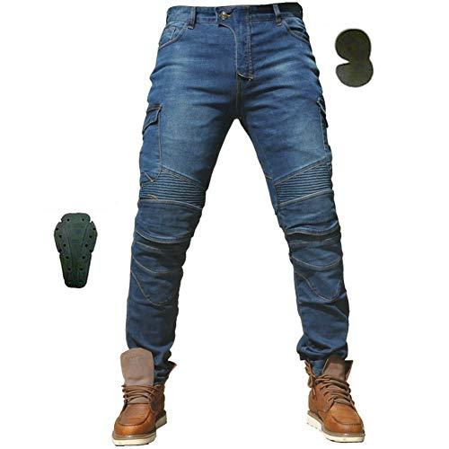 Motorradhose Camouflage Jeans Freizeit Motorrad Motorrad Herren Offroad Outdoor Hose Mit Schutzausrüstung Knieschützer Biker Jeans Bequem