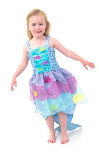 Lucy Locket – Tropische Meerjungfrau Verkleidung Kinder – Bezaubernde, handgemachte Meerjungfrauen Verkleidung für kleine Meerjungfrauen (3 Jahre)