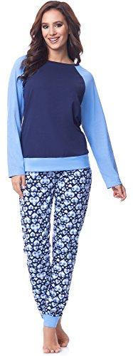 Merry Style Pijama Conjunto Camiseta y Pantalones Mujer MS10-154