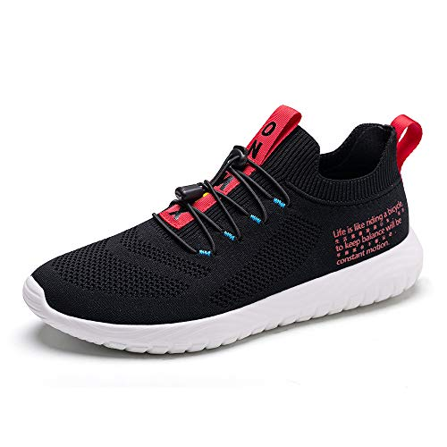 ONEMIX Zapatillas de Running para Hombre Casual Mujer Tenis Gym Correr Gimnasio Deportives Sneakers Zapatos