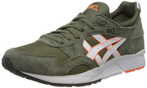 ASICS Herren Gel-Lyte V Laufschuh, Mantle Green/White, 42 EU