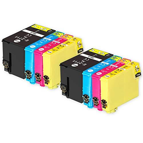 Go Inks Compatible Cartuchos de Tinta para reemplazar Epson 27 & 27XL Serie Non-OEM *Nueva Versi�n* (8 Tintas)