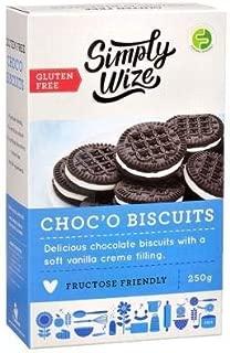 Gluten free Chocolate Vanilla Cream Cookies. low FODMAP Certified snacks . ibs food . Gut Friendly IBS Friendly Snacks
