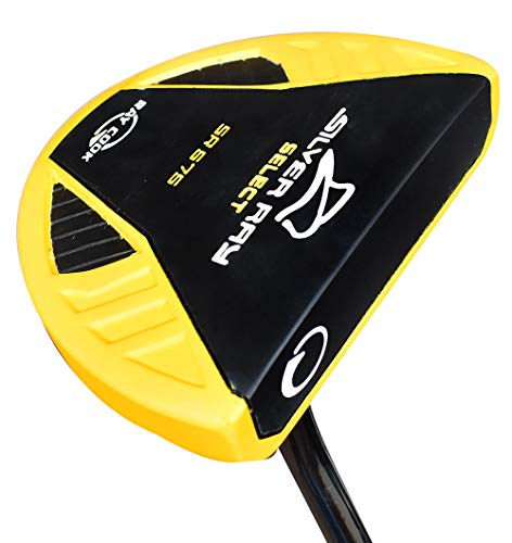 """Ray Cook Golf- Silver Ray SR575 Putter Yellow 35"""" -  901531"""