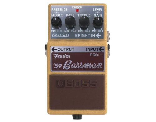 Efecto para Guitarra Boss FBM-1Fbm 1Fender '59Bassman