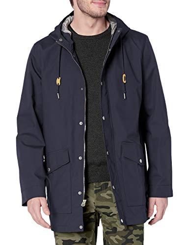 Levi's Men's Performance Cotton Fishtail Parka Jacket, Navy, Large