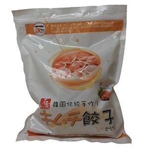 韓グルメ-KANGURUME 冷凍 「名家」手作りキムチ餃子1kg