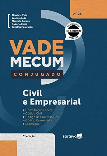 Vade Mecum Conjugado Civil e Empresarial - 3ª Edição 2021