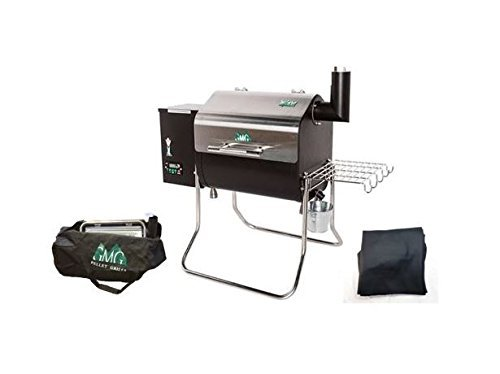 Green Mountain Grill Davy Crockett Pellet Grill Package, Cover and Tote Included - WiFi Enabled