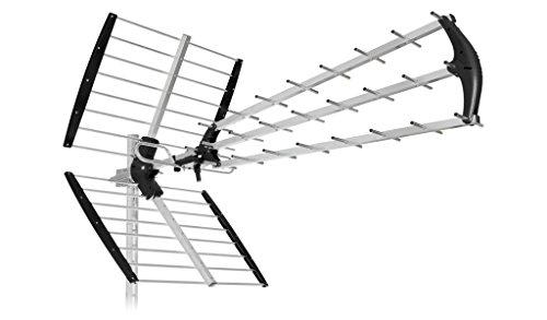 SH45 TU-ANTENNA 45 ELEMENTI  Lte 4G PER DIGITALE TERRESTRE UHF HD TV-PRONTA ALL USO IN SOLI 5 SECONDI