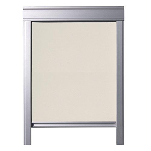 ITZALA Einfaches Verdunkelungsrollo für VELUX Dachfenster, M06, 306, Beige