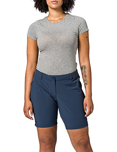 Schöffel Damen Pants Ascona Zip Off, leichte und komfortable Damen Hose mit optimaler Passform, Flexible Outdoor Hose für Frauen