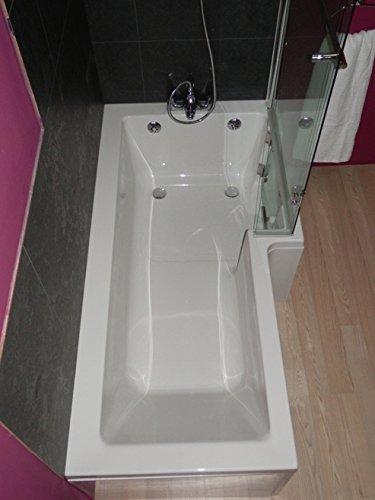 La sabana mampara ducha, izquierda o derecha opciones: Amazon.es ...