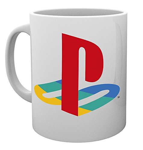 GB Eye, Playstation, Colour Logo, Taza