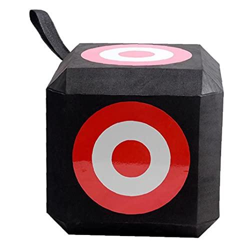 Tiro con arco Target Cube Eva Foam Archery Dados Training Target Square con 6 lados para arco recurvo Durable Tiro con arco Deportes Caza al aire libre Tiro al blanco Práctica de caza Accesori